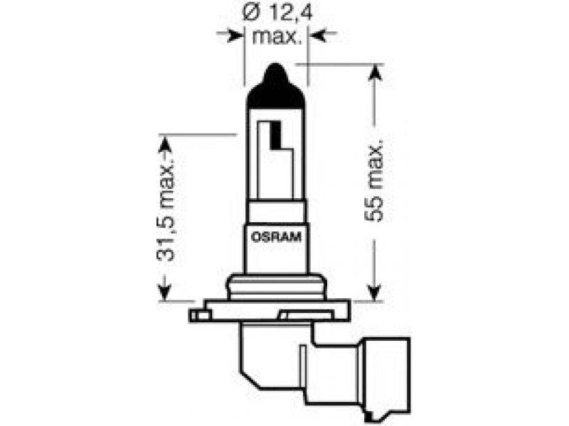 osram 9145rd lemput u0117  priekinis  u017eibintas  lemput u0117  r u016bko